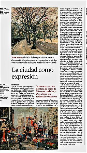 Vives Fierro en La Vanguardia