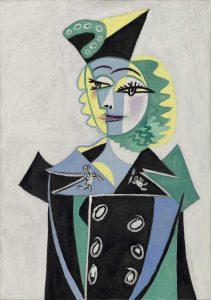 NUsch Elouard en el Museo Picasso