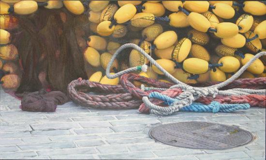 Redes de pesca. Carlos Marijuán