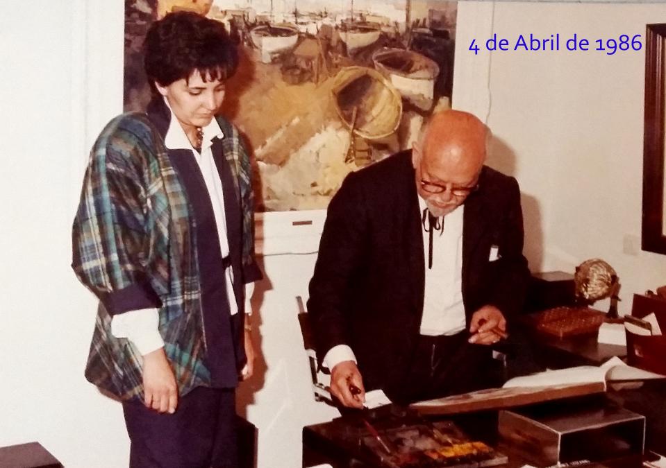 Inauguración de El Quatre en 1986
