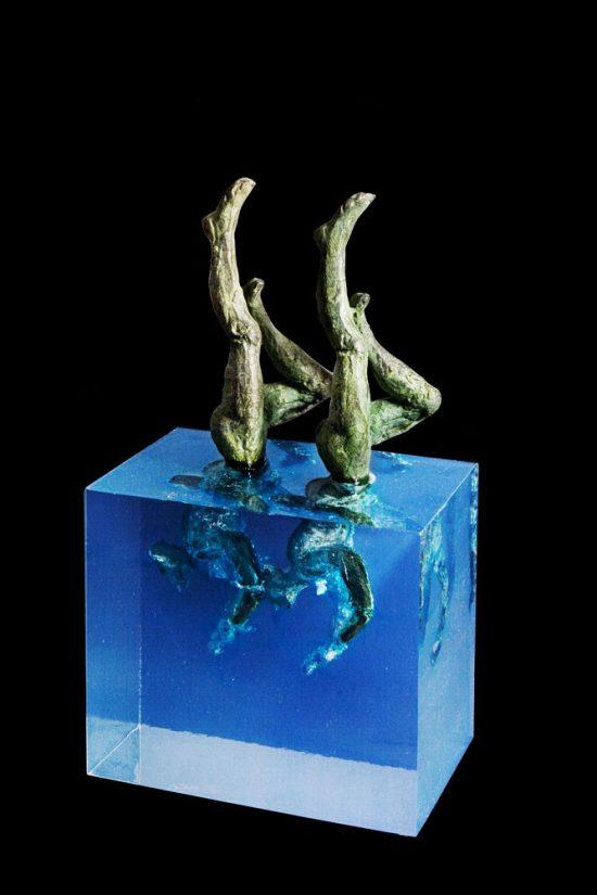 Escultura de Fernando Suárez Reguera