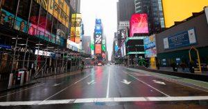 Nueva York desierta por el covid-19