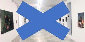 Las galerías de arte cerradas por el covid-19
