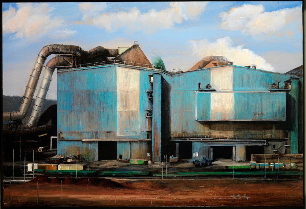 Obra de Neus Martín Royo para la exposición de realismos en el castillo de Calonge