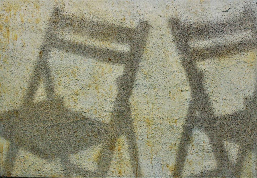 Obra de Josep Cisquella parab la exposición de realismos en el castillo de Calonge