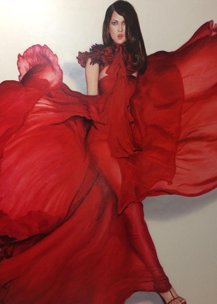 Obra de Gonzalo Goytisolo para la exposición de realismos en el castillo de Calonge