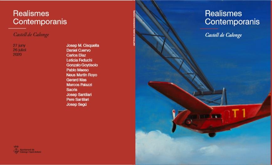 Catálogo de la exposición de realismos en el castillo de Calonge