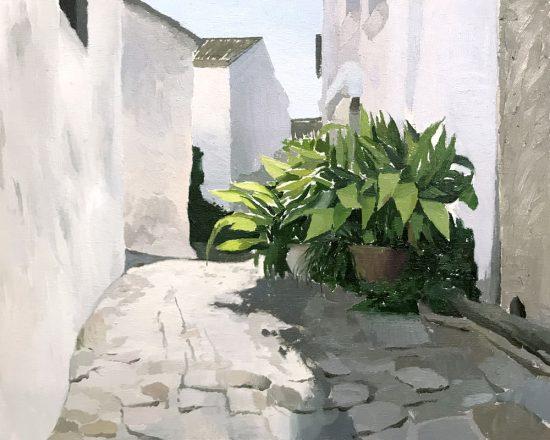 Pintura de Antonio Barahona
