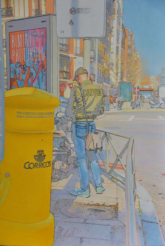 Pintura de Carlos Marijuan